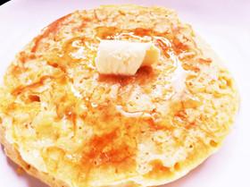カリッふわっ♪簡単チーズホットケーキ☆