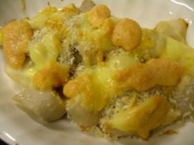 里芋の明太マヨグラタン