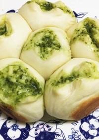 バジルとチーズのちぎりパン-QC使用-
