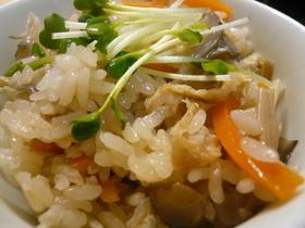 ✿土鍋de美味しいきのこご飯✿