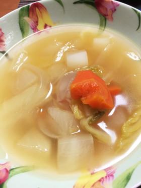 野菜たっぷり ☆生姜☆コンソメスープ