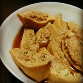 つくね入り高野豆腐