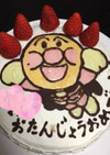 アンパンマンケーキ♡ゼリー