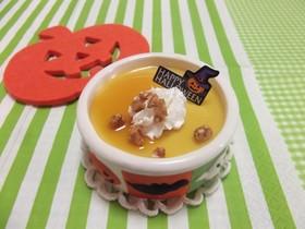ぷるるん豆乳かぼちゃプリン