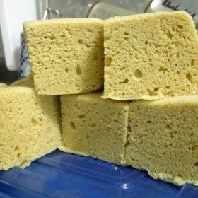 おからパウダーのレンジ蒸しパン