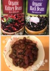 Kidney beans缶詰で簡単煮豆