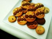 HMで簡単アンパンマンクッキーの写真