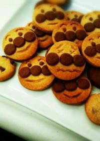 HMで簡単アンパンマンクッキー