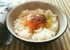 簡単♡岩塩卵かけご飯(黒塩)GETKG♡