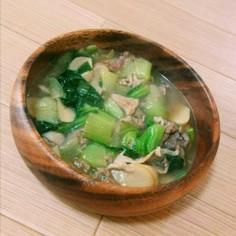 中華風トロトロスープ