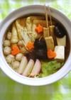 皆でワイワイ!椎茸&昆布で我が家の寄せ鍋