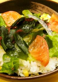 簡単★サラダちらし寿司
