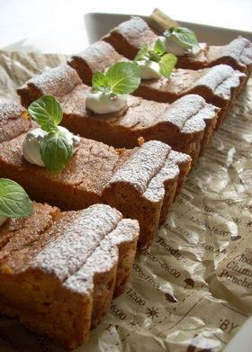 滑らか♪とろけるキャラメルチーズケーキ