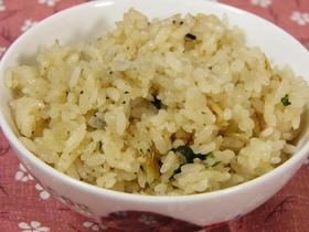桜海老の炊き込みご飯