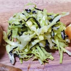 キャベツの作り置き1)キャベツの塩麹和え