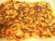 にぎやか☆ピザの写真