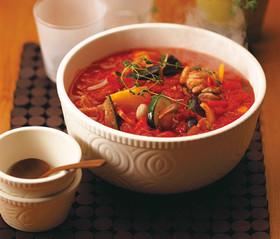 イタリアン野菜のトマト煮込み