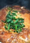 [韓国料理]鯖缶で鯖チゲ