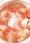 寒い日に温まる!鶏肉団子と白菜のスープ煮