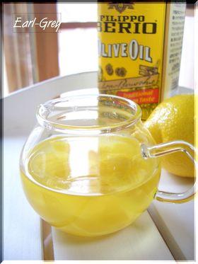 オリーブオイル♪レモンの香り