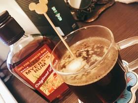 ラム酒の香るコーヒーグロッグ