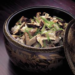 焼き松茸ご飯