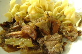 牛すね肉のオーブン煮込みシチュー
