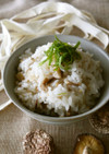 干ぴょうと椎茸の混ぜご飯(精進料理)