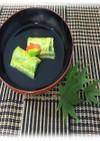 【学生提案】湯葉とほうれん草のお吸い物