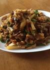 簡単(^ ^)筍とジャガイモの 青椒肉絲