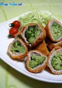 お弁当に♪ブロッコリーの◎肉巻きフライ◎
