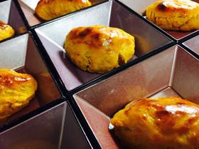 栗かぼちゃと鳴門金時の豆乳スィートポテト