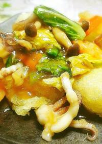 ◆パリパリ揚げ餅の海鮮うまみあんかけ♪◆
