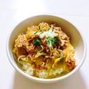 クローン病  豚丼 (化学調味料無添加)