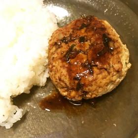簡単に豆腐ハンバーグ 豚ひき肉ver