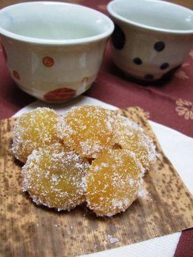 ひとくちサイズの秋の味覚☆甘栗納豆