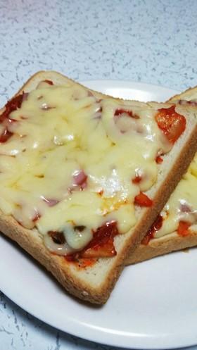 ランチに簡単★キムチピザトースト