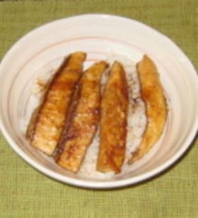 鰻フェイクの蒲焼丼