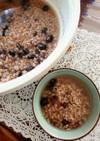 健康に~黒豆と小豆の食べる玄米スープ♪