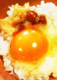 なめこと大根おろしの卵かけご飯⋆TKG