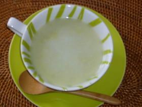 ソラマメ冷製スープ