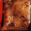 鶏肉とミンチの重ね焼き
