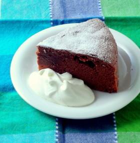 バレンタインに♥大人のチョコレートケーキ