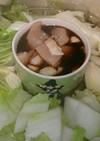 鶏肉と白菜のシンプル  ナペなべ 鍋