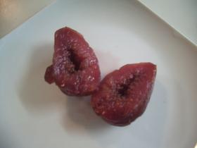 イチジクの赤ワイン煮