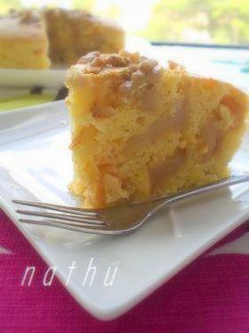 ノンオイル・ヨーグルト・りんごケーキ