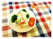 豆腐とおからのポテサラ風の写真