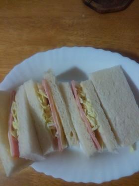 簡単!サンドイッチ。