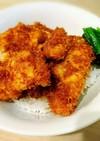 福井名物 鳥ムネ肉のソースかつ丼