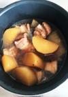 炊飯器で簡単に豚角煮